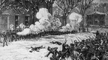 History can show us what is possible. Shays' rebellion, 1786. Soldiers opened fire on rebels.