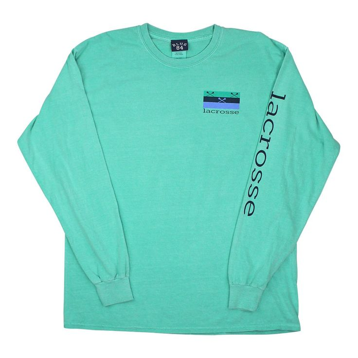 Green Band Sticks Long Sleeve in Adult Sizes 100% Cotton For Comfort Fit Left Chest: Small Green Band Sticks Lacrosse Logo Back: Green Band Sticks Logo Design Color: Green Size: Adult