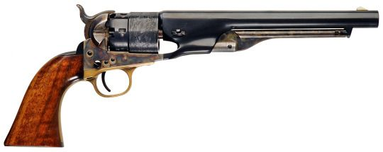 Colt 1860 Army - .44 Caliber Ball #firearms #guns #revolvers #pistols #handguns #black powder #colt #1860 army #.44 #single action