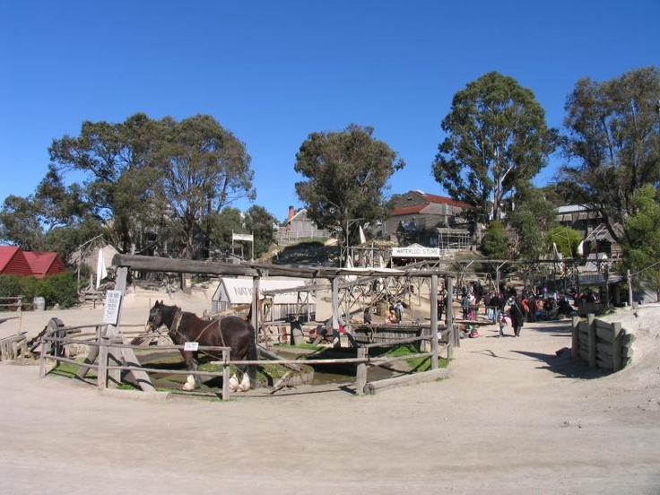 Day trip to Ballarat Soverign Hill, Melbourne Australia