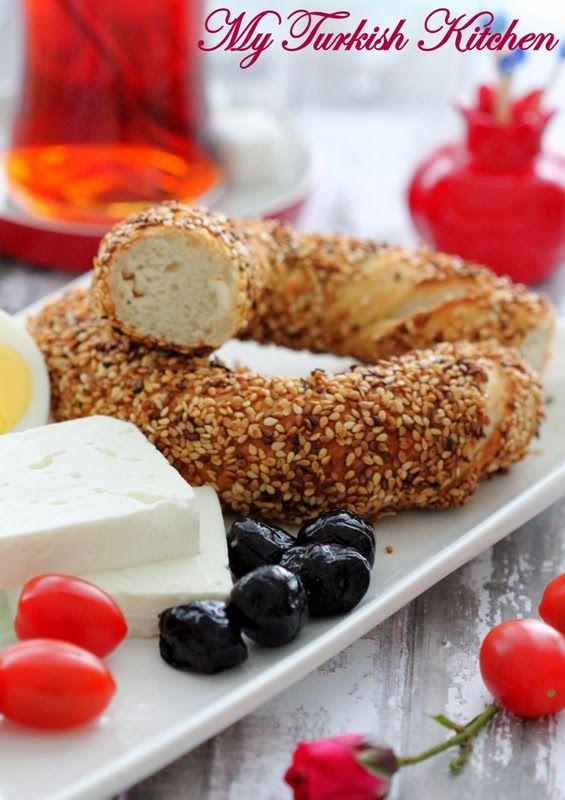 My Turkish Kitchen: Simit Recipe- How to Make Turkish Sesame Bagel