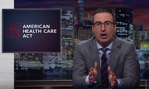 John Oliver on Trumpcare: 'the Ted Cruz of healthcare legislation'  The host of Last Week Tonight explained why the latest healthcare reform will hurt many Americans, especially those who voted for Trump