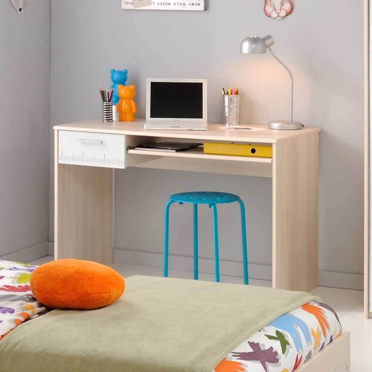 Schreibtisch Für Kinderzimmer Akazie Weiß Jetzt Bestellen Unter: ...