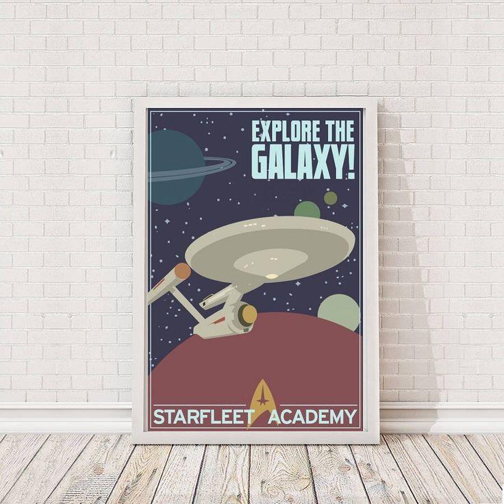 Star Trek recrutement affiche Art Film Poster Movie Poster par WonderWaIIArt sur Etsy https://www.etsy.com/fr/listing/504792527/star-trek-recrutement-affiche-art-film