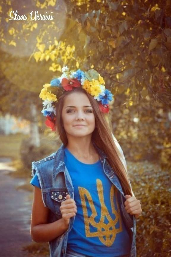 Ukraine - Wearing the Tryzub is an expression of identity and national pride for Ukrainians! Slava Ukraina!