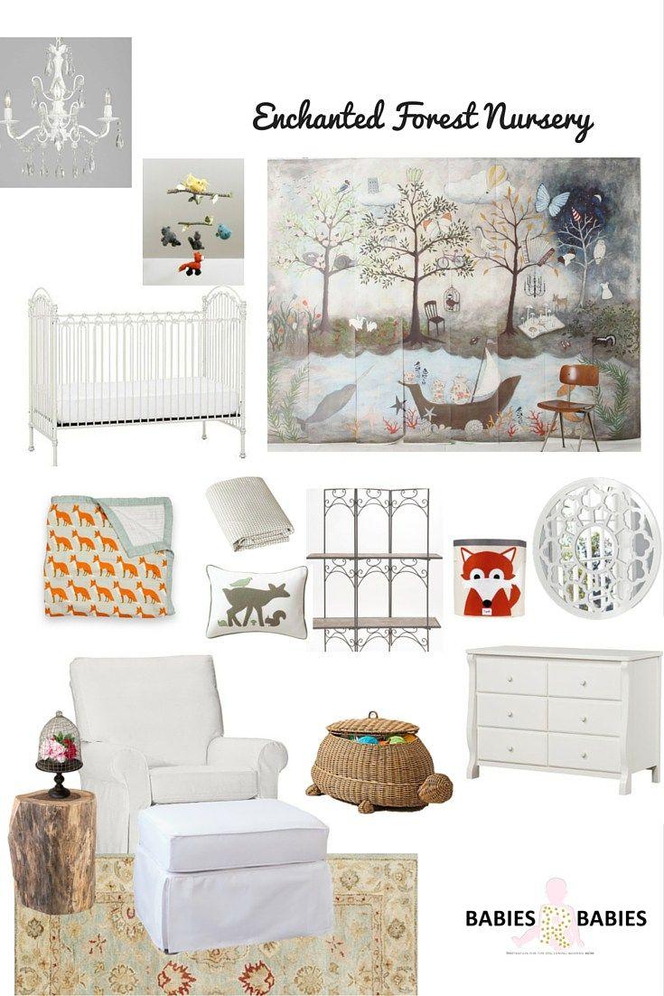 Enchanted Forest Nursery Design Board - Babies R Babies