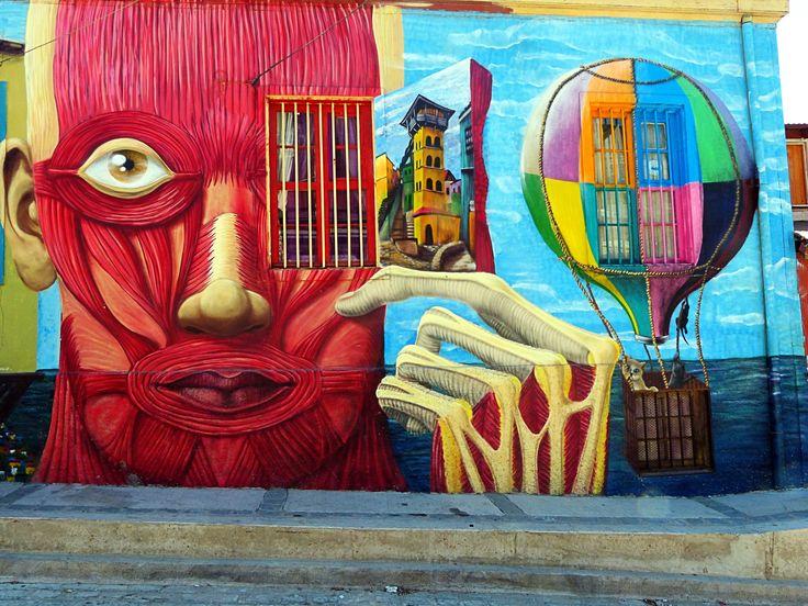 https://flic.kr/p/ibNJPy | Mural Porteño (Valparaiso, Chile)