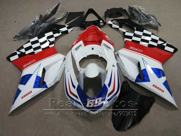 340.40$  Watch here - http://ali3gg.worldwells.pw/go.php?t=32771110606 - Aftermarket body parts fairing kit for Ducati 848 1098 1198 07 08 09 10 11 white red blue black fairings 848 1198 2007-2011 AS33 340.40$