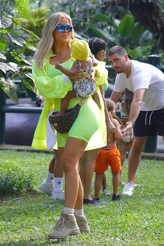 9e780604631 Khloe Kardashian wearing  Yeezy Season 6 Desert Rat Sneaker Boots. from   KhloeKardashianStyle s closet  yeezy