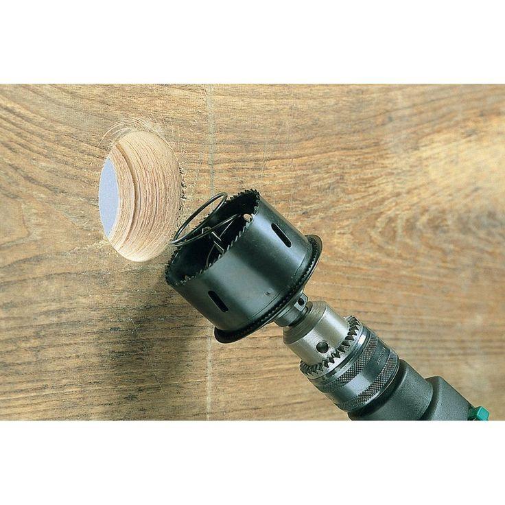 Пила кольцевая высокоточная для высококачественной и быстрой работы ø 68 мм Для работ по дереву, листам гипсокартона, строительным плиткам. Автоматический выброс бурового керна, шестигранный хвостовик ø 12 мм. Глубина сверления 40 мм. 1 центрирующее сверло HCS, ø 6 мм