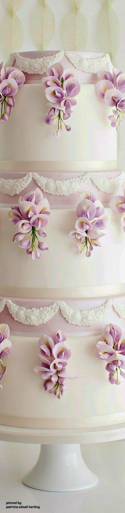 Wiateria cake- lovely!