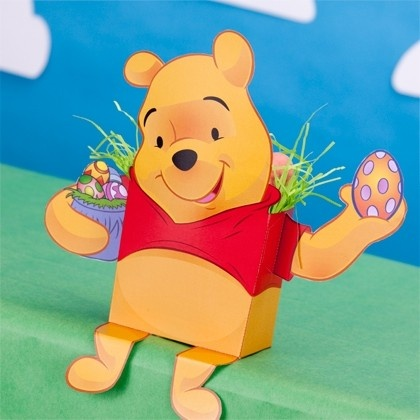 Winnie the Pooh Candy Box #Easter
