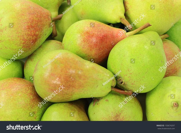 Pears on pile. Picture is good for background.