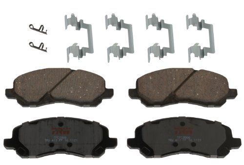 Power Stop 16-1892 Front Z16 Evolution Clean Ride Ceramic Brake Pad
