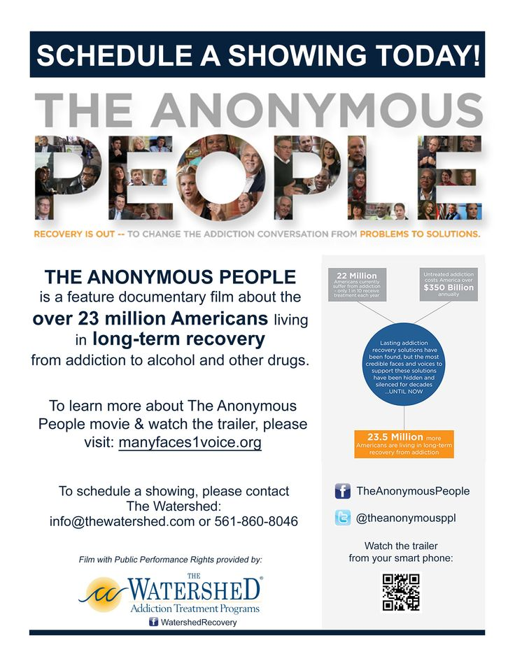 First showing of The Anonymous People at the Watershed Halfway House was a huge success!   Contact us at info@thewatershed.com to schedule a showing of The Anonymous People. #TheAnonymousPeople #Recovery #Addiction #DrugAddiction