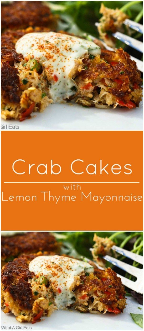 Mid-Atlantic Crab Cakes with Lemon Tarragon Mayonnaise.