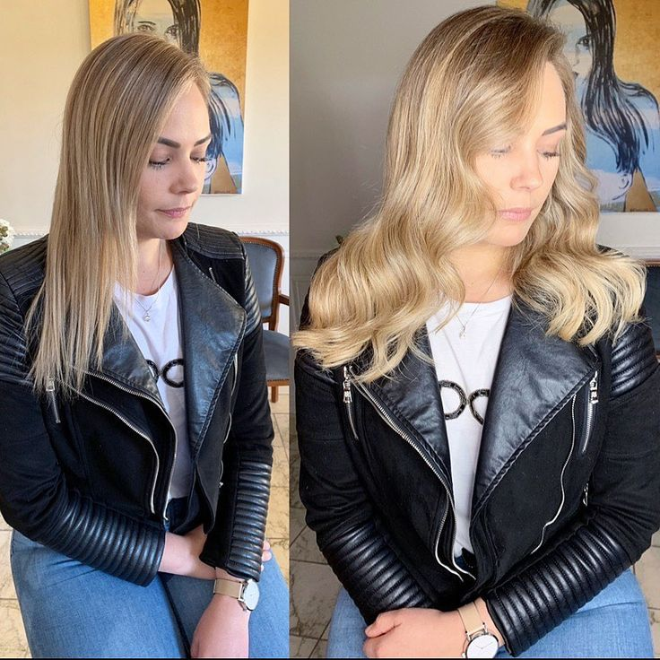 Added only 3 wefts 45gms w @yovankaloriaextensions…