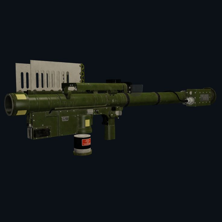 Fim 92 Stinger 3D Model - 3D Model