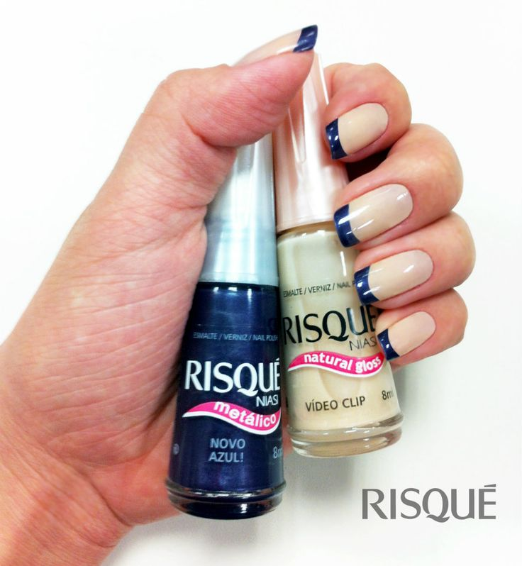 French Manicure from Risqué