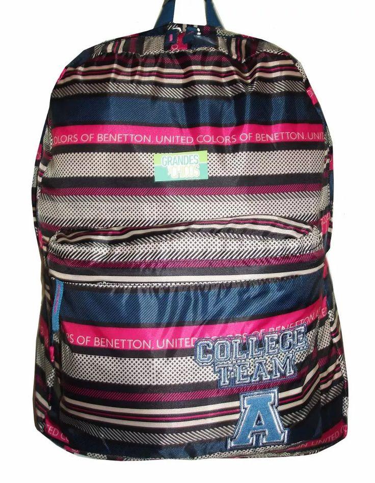 united colors of benetton mochila original  entrega imediata