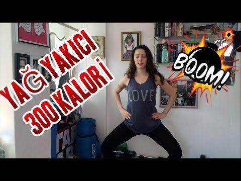4 dk da 300 kalori yak | Burn  | Yağ Yakma - YouTube
