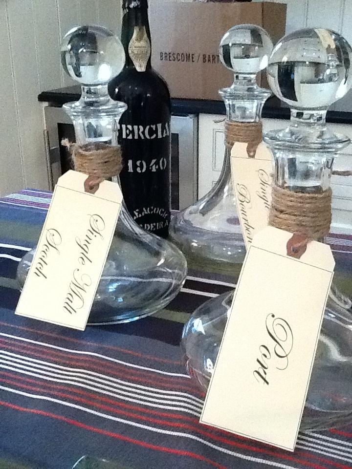 Scotch/Whiskeys/Bourbons, Tim LaBant Events, www.timlabantevents.com