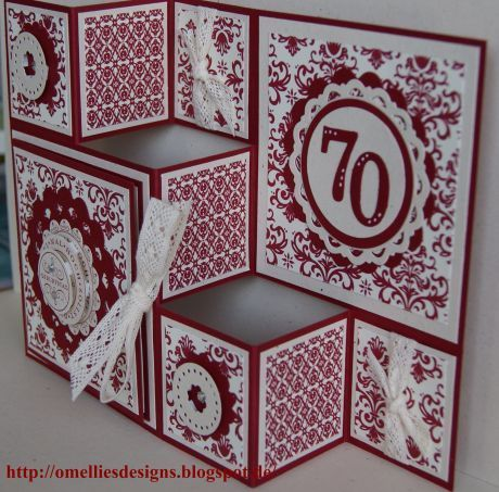 81 Best Tri - Fold Card Images On Pinterest | Folded Cards, Fancy