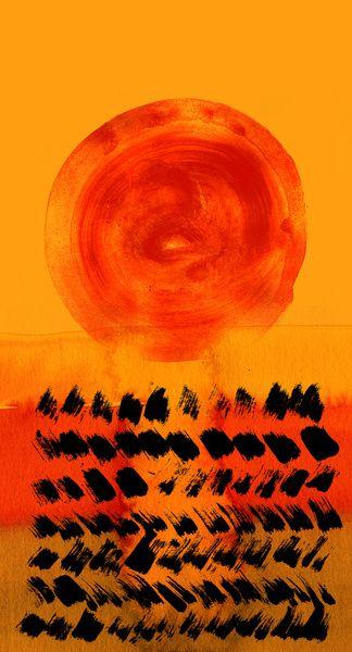 sun 05 Art Print