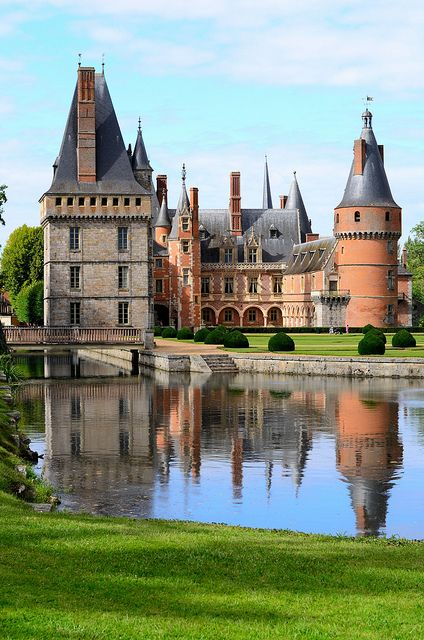 Château de Maintenon, France. Best known as the private residence of the second spouse of Louis XIV, Madame de Maintenon.