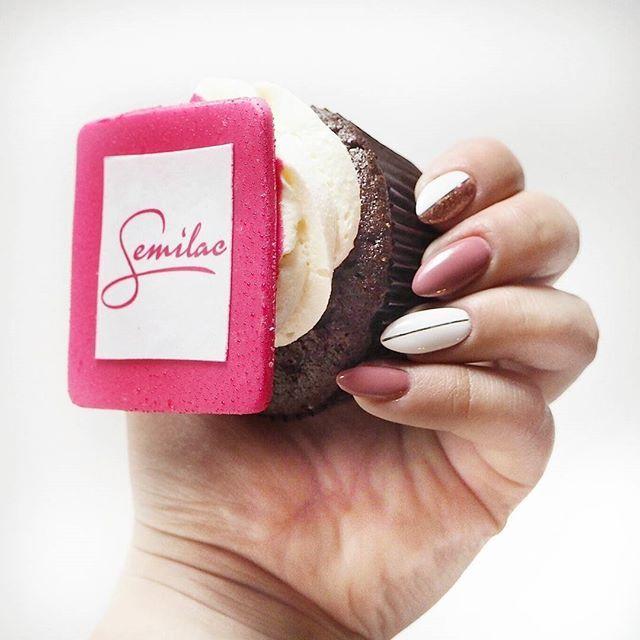 #paznokcie #manicure #hybrydy #inspiracje #nails #patamaluje #patabloguje #nailsart #newnails #mani #manicure #semilac #ilovesemilac #cupcake #branding #led #uv #patabloguje #bcp #blogconferencepoznan #sweetness #yummy