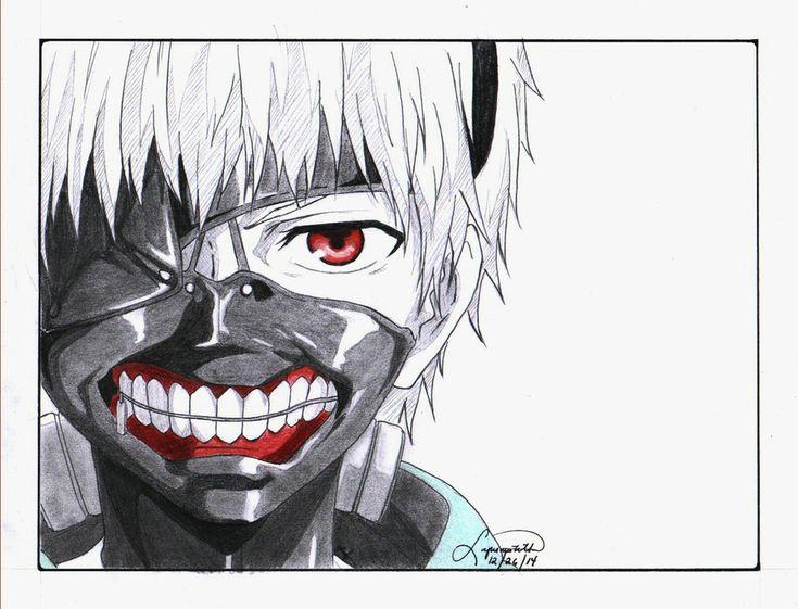 Kaneki ken animelove pinterest tokyo ghoul kaneki - Sketch anime wallpaper ...