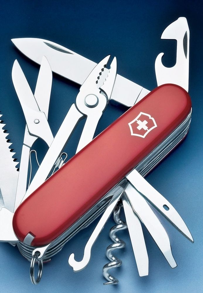 Victorinox pocket knife: This is a great present for young and old. Very useful…