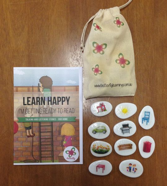 Your child's talking and listening skills are crucial to their later reading development.  When you and your child play with our Talking and Listening stones, you'll discover how well your child listens, and responds to, specific questions using their stones as prompts.  This set is themed 'Home'. We've included a detailed parent guide for you too.