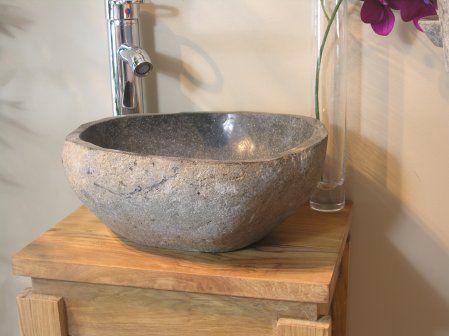 #vasque #pierre #galet