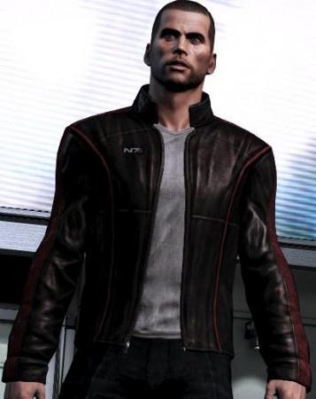 Mass Effect 3 Leather Jacket