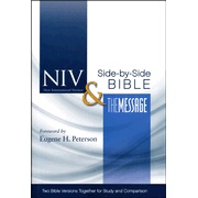 NIV & The Message Parallel Bible (I'm gonna have to get this one!)