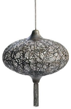 Plume Hanging Candle Lantern mediterranean-candles-and-candle-holders