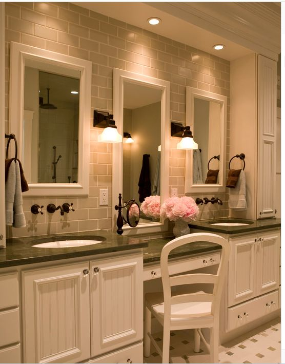 New Built In Bathroom Cabinets Design  Bathroom Ideas  Pinterest