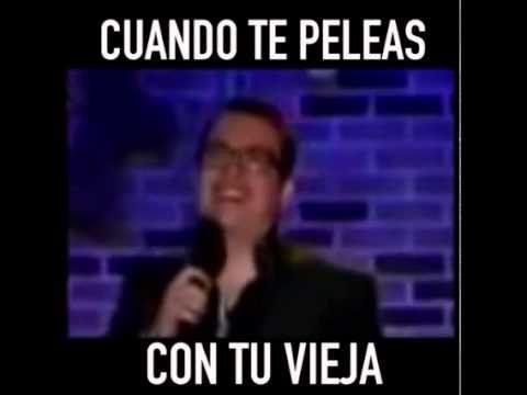 Franco Escamilla - Cuando te peleas con tu vieja - YouTube