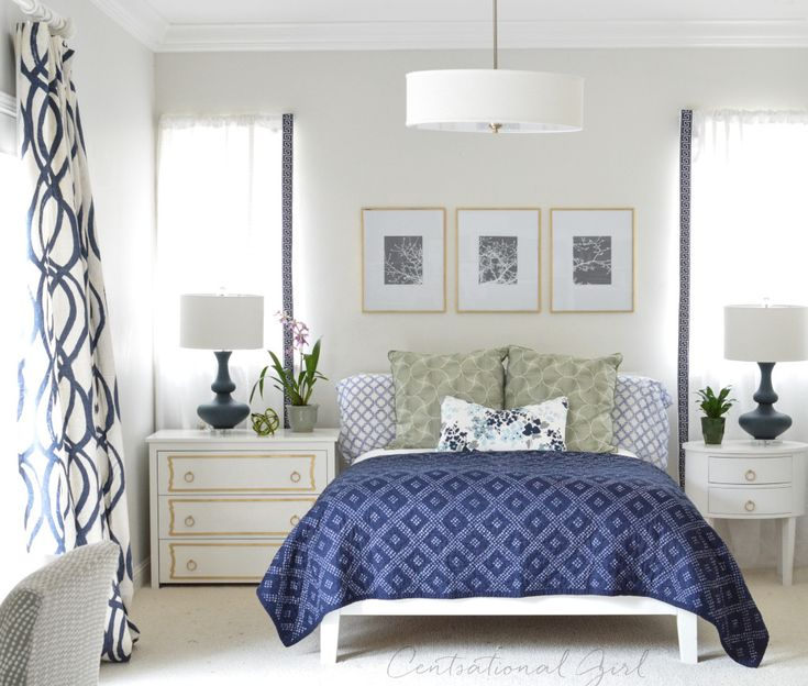 Best 25+ Navy White Bedrooms Ideas Only On Pinterest