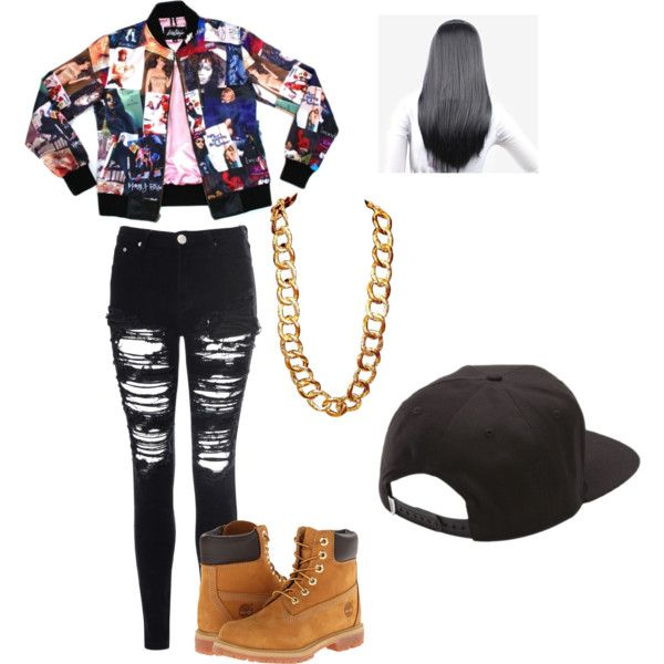 90s hip hop by hopealexx on Polyvore featuring polyvore, fashion, style, Glamorous, Timberland, Coach, Vans, Mariah Carey and clothing