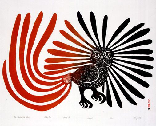 "Kenojuak Ashevak, ""The Enchanted Owl"""