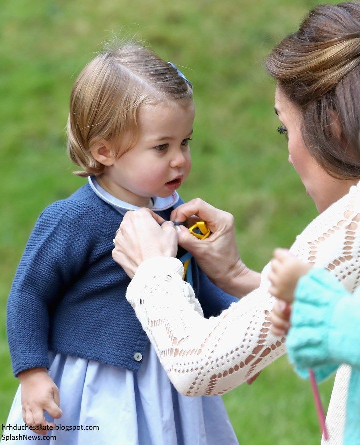 Duchess Kate: Bubbles & Balloons: George & Charlotte Steal the Show at Children's Party