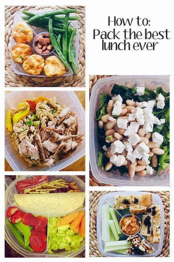 How to Pack the Best Lunch Ever (College Prep)