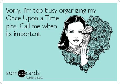 too busy with ouat