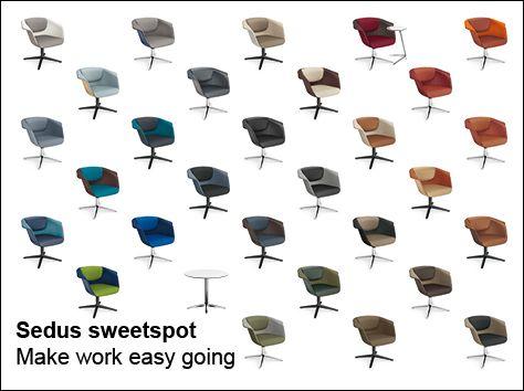 Sedus sweetspot Make work easy going