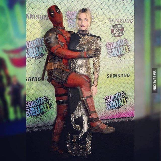 Ryan Reynolds went to the Suicide Squad Premiere dressed as Deadpool.