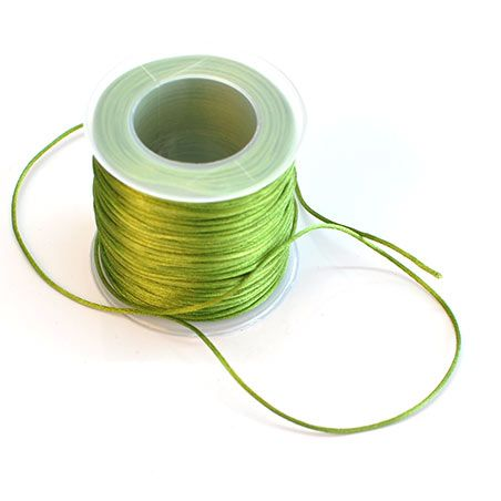 1mm Satin Cord for R145/300m from Paradise Creative Crafts. Come visit us at our online shop.  We deliver anywhere and everywhere.