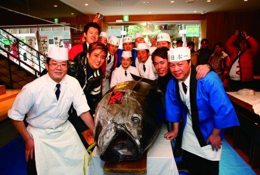 Itamae Sushi Akasaka, right around the corner from our hotel