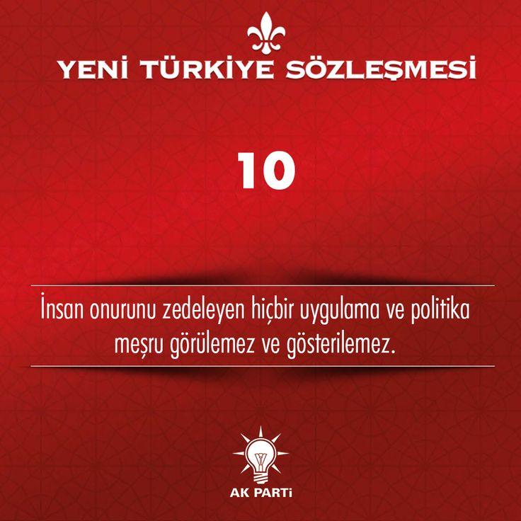 10.Madde, #YeniTürkiyeSözleşmesi